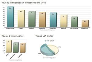 Learning Styles - Test Results
